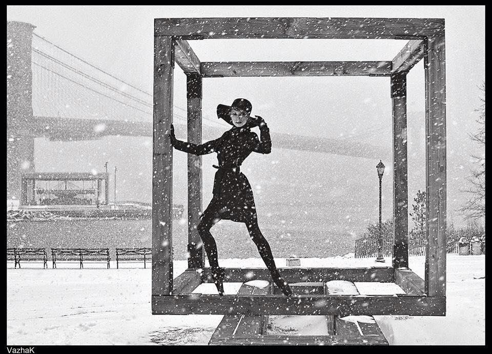 Photo of ყოფილი ბალერინა, ქორეოგრაფი ანი გადელია ნიუ-იორკში პატარებს ცეკვას ასწავლის