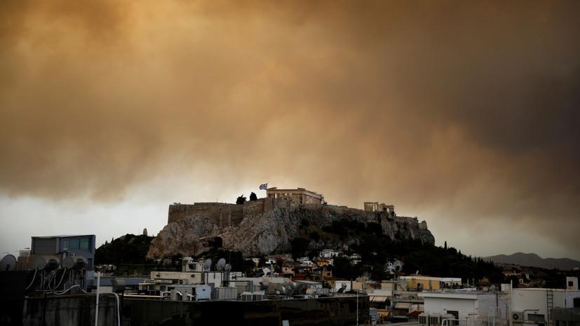 Photo of ათენის აკროპოლისი დაიკეტა