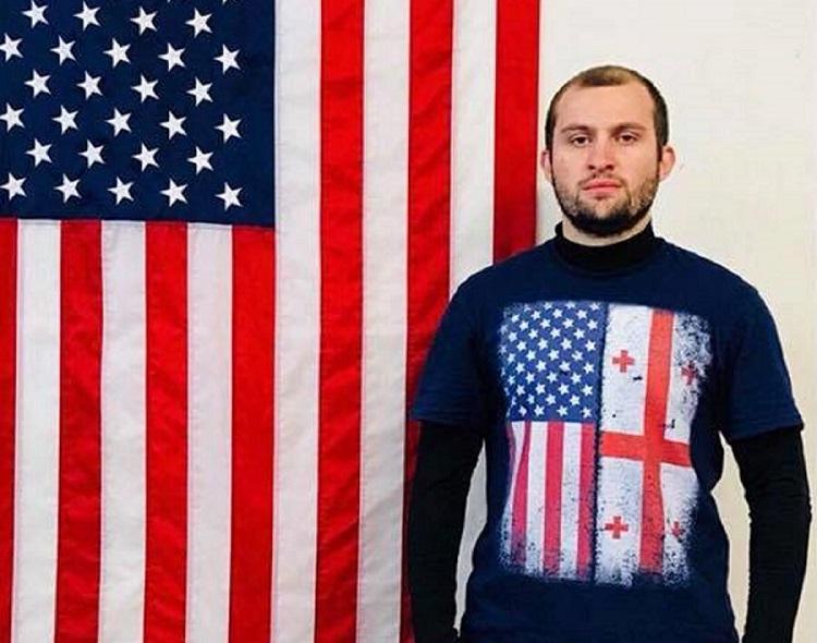 """Photo of გიორგი ჯიქია: """"მინდა ამერიკაში ჩემი სათქმელი ვთქვა"""""""