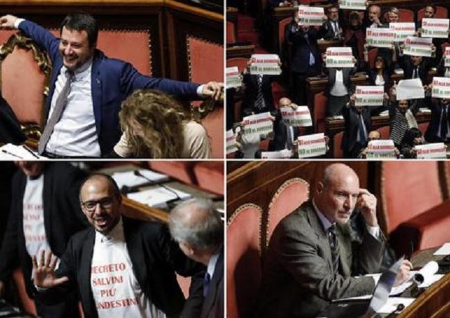 "Photo of ""სალვინის დეკრეტს"" იტალიის სენატმა მხარი დაუჭირა"