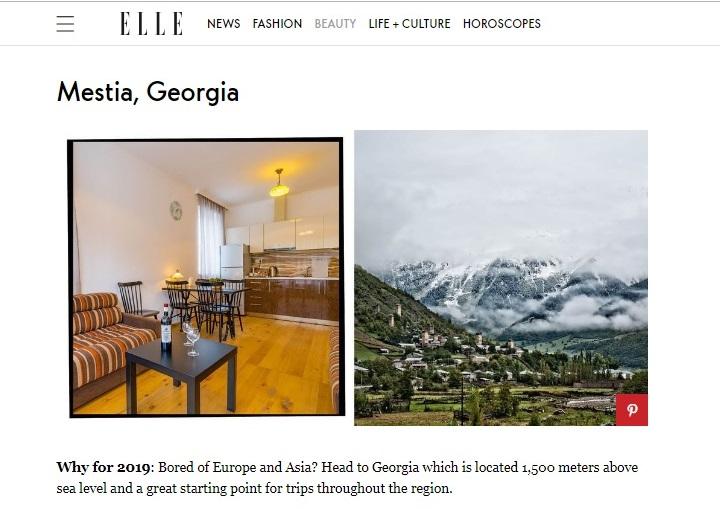 """Photo of """"მოგბეზრდათ ევროპა და აზია? ეწვიეთ საქართველოს"""" – ELLE-ის  ბრიტანული რედაქცია მკითხველს მესტიაში მოგზაურობას ურჩევს"""