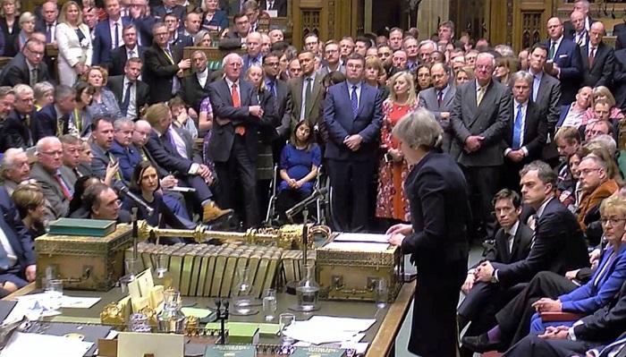 "Photo of ბრიტანეთის პარლამენტმა მხარი არ დაუჭირა ""ბრექსიტთან"" დაკავშირებით ტერეზა მეის მიერ ევროკავშირთან დადებულ შეთანხმებას"