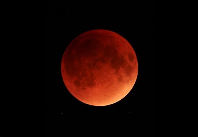 Photo of რამდენიმე საათში მთვარის სრული დაბნელება დაიწყება და მთვარე გაწითლდება