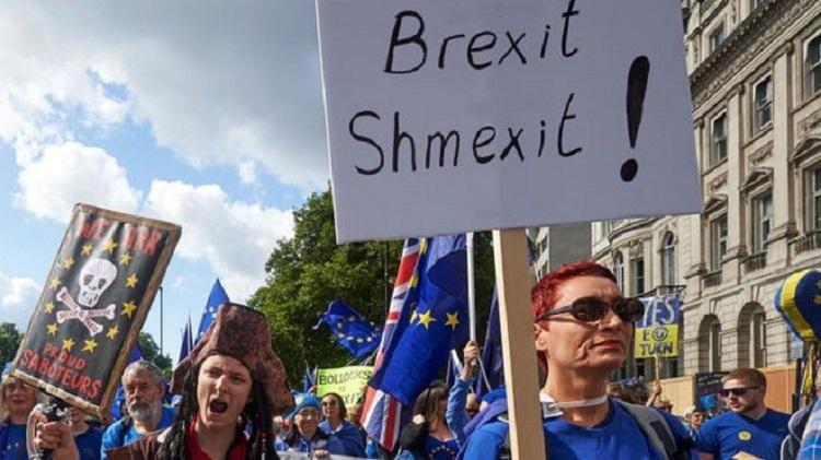 Photo of ბრიტანეთის პარლამენტმა ბრექსიტისშეთანხმებას ისევ არ დაუჭირა მხარი – ქვეყანას ევროკავშირიდან დაურეგულირებელი გასვლა ემუქრება