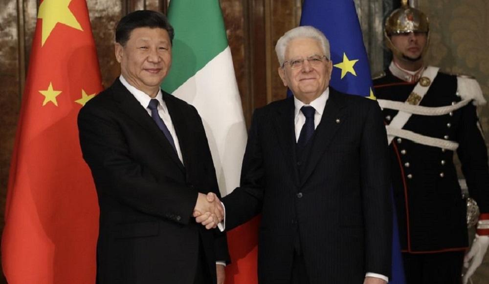 "Photo of იტალიამ ჩინეთის ახალი აბრეშუმის გზის პროექტს ""ერთი სარტყელი – ერთი გზა"" მხარი დაუჭირა"