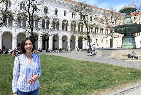 """Photo of მარიამ ბართიშვილი: """"გერმანიაში სწავლა სულაც არ არის აუხდენელი ოცნება"""""""