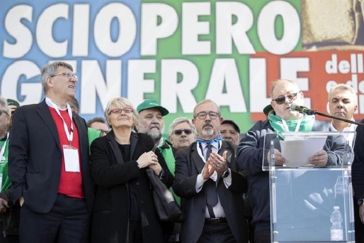 Photo of იტალიის პროფკავშირები ხელისუფლებას აკრიტიკებენ და საყოველთაო გაფიცვით იმუქრებიან