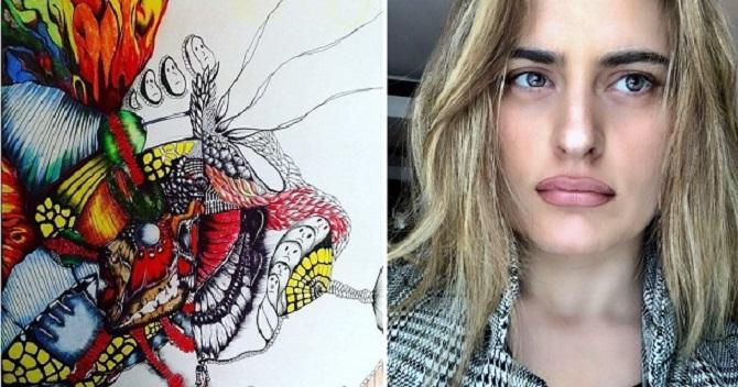 Photo of ლანა სამხარაძე – ემიგრანტი თვითნასწავლი მხატვარი, რომელსაც საბერძნეთში თავისუფლების განცდა ხიბლავს