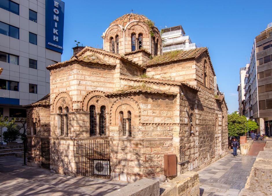 """Photo of ათენის უძველესი ბიზანტიური ეკლესია """"ცრემლების მოედანზე"""""""