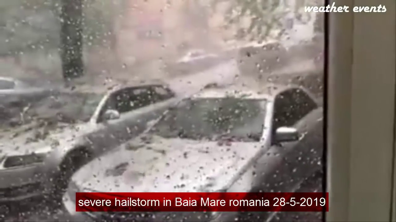 Photo of ქვების წვიმა რუმინეთში – გამაოგნებელი კადრები