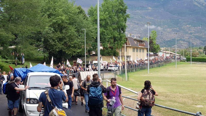 Photo of იტალიაში აქციის მონაწილეთა წინააღმდეგ პოლიციამ ცრემლსადენი გაზი გამოიყენა