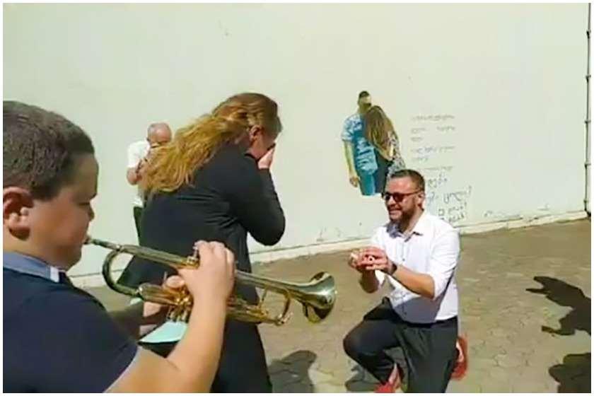 """Photo of """"ქრონიკის"""" ჟურნალისტს ხელი გადაღების დროს სთხოვეს"""