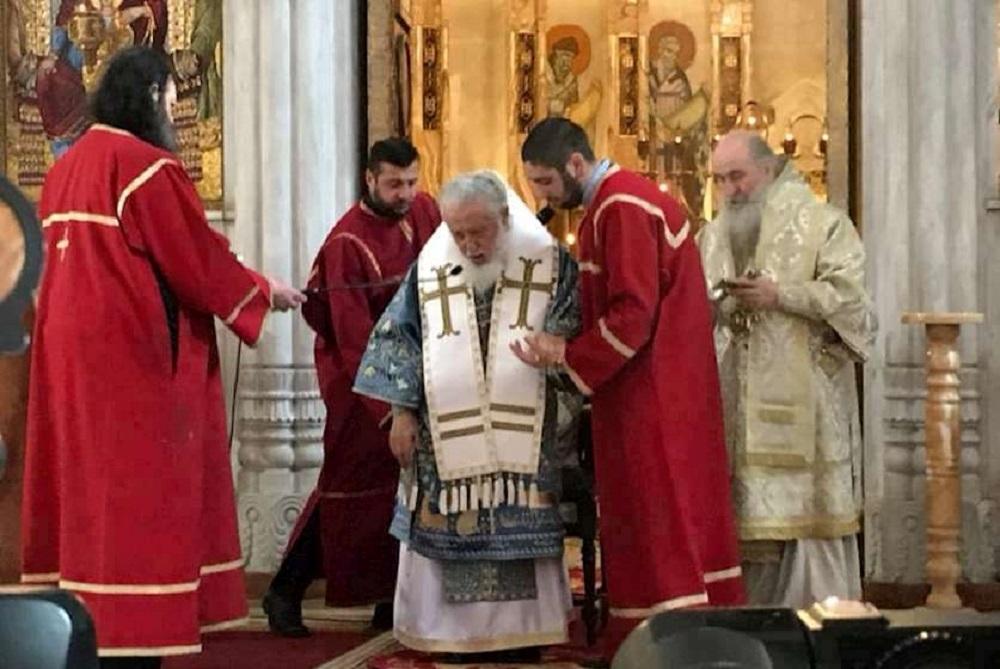"""Photo of ილია მეორე: """"საქართველო ღვთისმშობლის წილხვედრი შემთხვევით არ არის"""""""