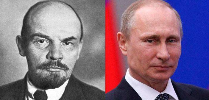 """Photo of """"კომუნიზმი ქრისტიანობას ჰგავს, ლენინი კი წმინდანია"""" – ვლადიმირ პუტინი"""