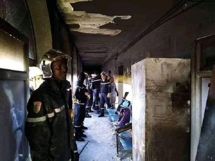 Photo of ალჟირში სამშობიაროში გაჩენილ ხანძარს 8 ახალშობილი ემსხვერპლა