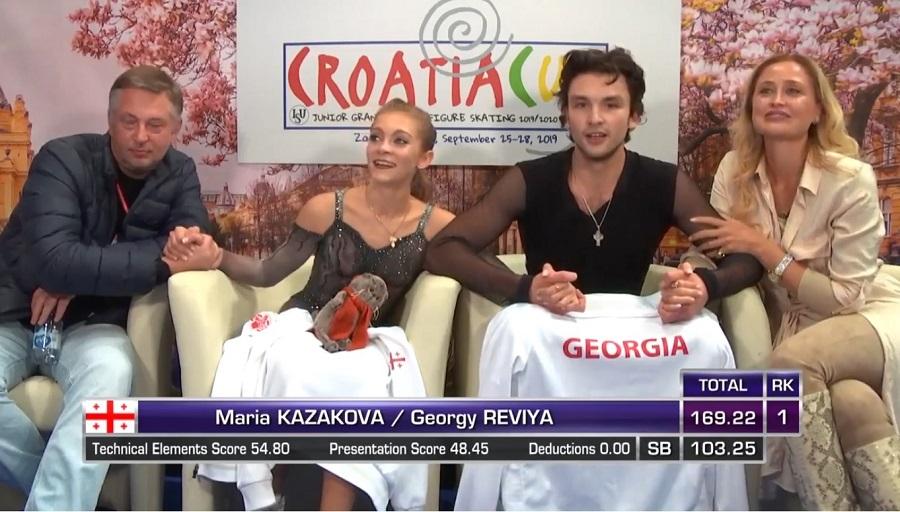 Photo of Καλύτερο αποτέλεσμα από τον Καναδά και τη Ρωσία: Το πρώτο χρυσό μετάλλιο των Γεωργιανών αθλητών στο Καλλιτεχνικό πατινάζ (Βίντεο)