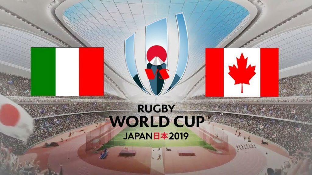 Photo of რაგბის მსოფლიო თასზე იაპონიაში იტალიამ კანადა დაამარცხა და ლიდერობას ინარჩუნებს