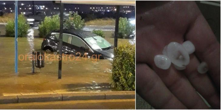 Photo of თესალონიკში ძლიერმა წვიმამ წყალდიდობა გამოიწვია