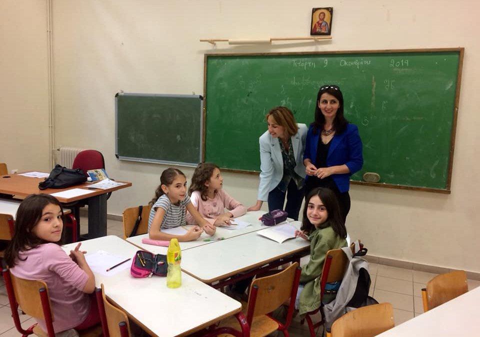 Photo of ქართული ენის პროგრამა ათენის კიდევ ერთ საჯარო სკოლაში ამოქმედდა