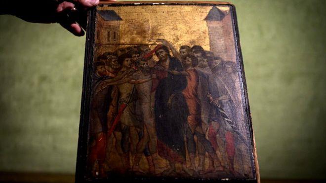 Photo of საფრანგეთში, ერთ-ერთ ოჯახში აღმოჩენილი ფლორენციელი ოსტატის, ჩიმაბუეს ნახატი 24 მილიონ ევროდ გაიყიდა