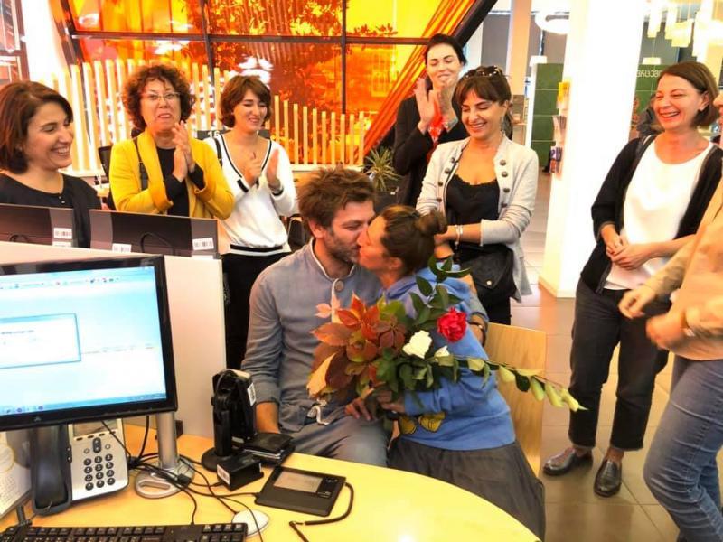 Photo of ანა ჩირაჩე (ჩიკა) და კოტე თედელური დაქორწინდნენ (ფოტოები)