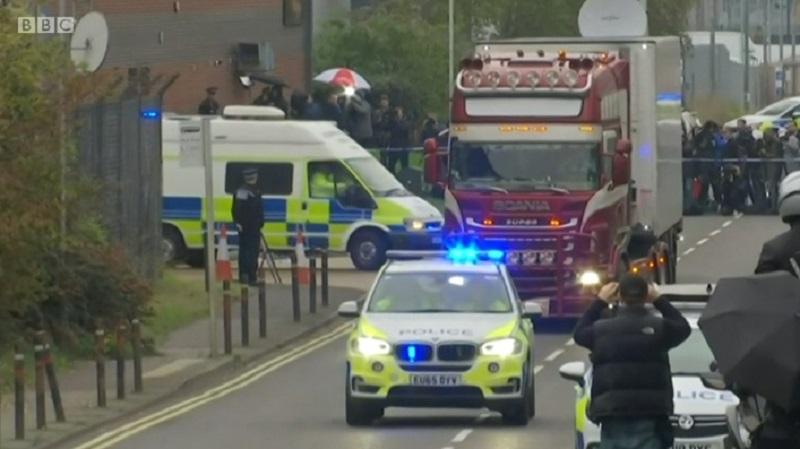Photo of ლონდონის მახლობლად სატვირთო მანქანაში აღმოჩენილი 39 გარდაცვლილი მიგრანტის ეროვნება ცნობილია