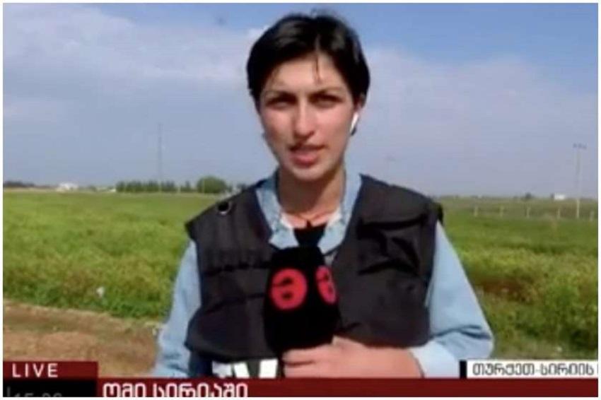 "Photo of ""მაესტროს"" ჟურნალისტს თურქმა სამხედროებმა ტერიტორია პირდაპირ ეთერში დაატოვებინეს"