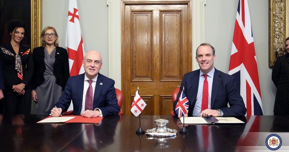 Photo of საქართველოსა და გაერთიანებულ სამეფოს შორის სტრატეგიული პარტნიორობის შეთანხმება გაფორმდა