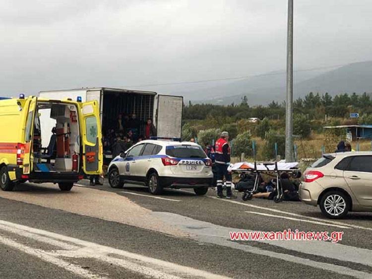Photo of საბერძნეთში ქართველი მძღოლი დააკავეს, რომელსაც სატვირთო ავტომობილით 41 არალეგალი მიგრანტი გადაჰყავდა (ვიდეო)