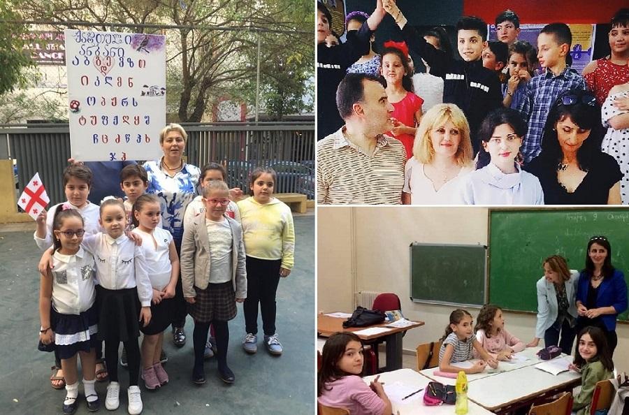 "Photo of ""უხარიათ, რომ ესმით მშობლიური ენა, მოფრინავენ გაკვეთილზე"" – როგორ სწავლობენ ემიგრანტი ბავშვები ქართულ ენას საბერძნეთში"