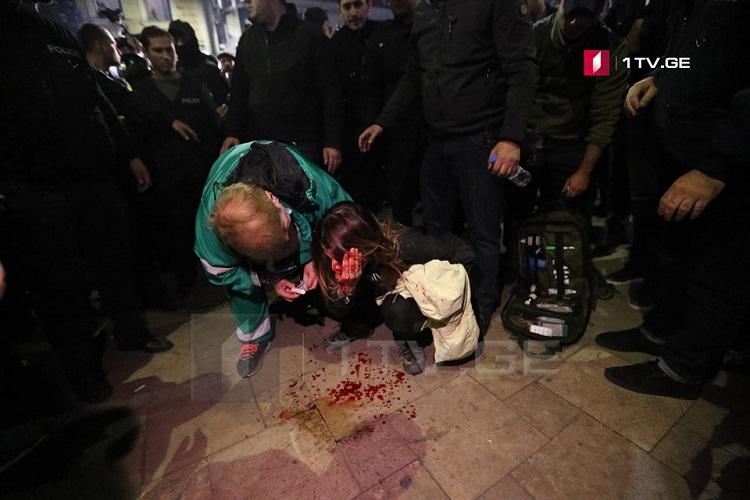 """Photo of შსს-ს ინფორმაციით, კინოთეატრ """"ამირანთან"""" აქციაზე 11 პირი დააკავეს (ვიდეო)"""