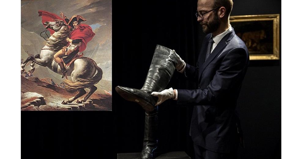 Photo of ნაპოლეონის ფეხსაცმელი პარიზში აუქციონზე 117 ათას ევროდ გაიყიდა
