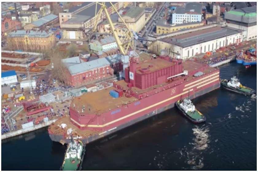 Photo of მსოფლიოში პირველი მცურავი ატომური ელექტროსადგური რუსეთში ამუშავდა (ვიდეო)