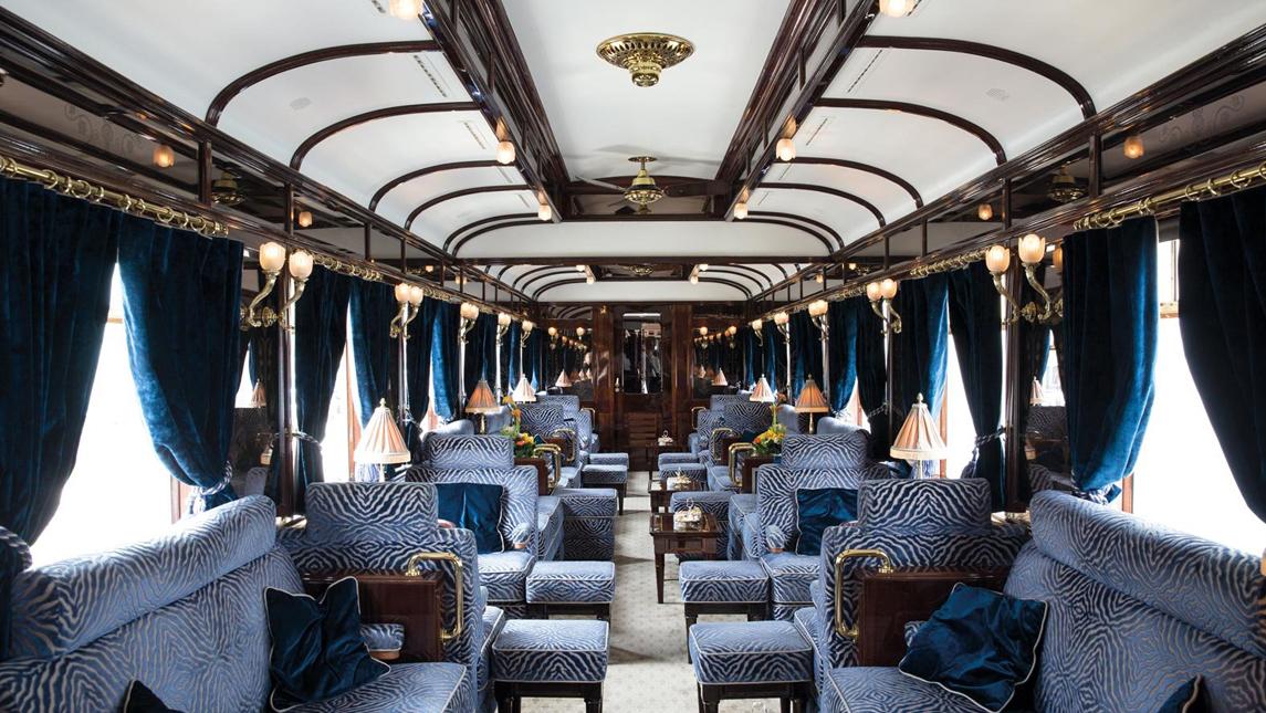 """Photo of ვენეციასა და ლონდონს ერთმანეთთან """"გეტსბის"""" სტილში შექმნილი მდიდრული მატარებელი დააკავშირებს"""