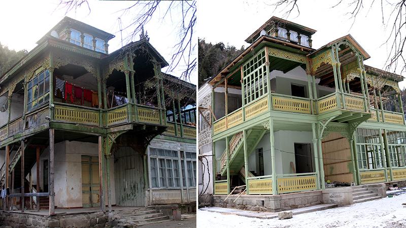 Photo of როგორ გამოიყურება აბასთუმანში რეაბილიტირებული შენობები (ფოტოები)
