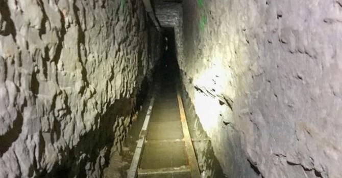 Photo of აშშ-მექსიკის საზღვარზე კონტრაბანდისთვის განკუთვნილი ყველაზე გრძელი გვირაბი აღმოაჩინეს