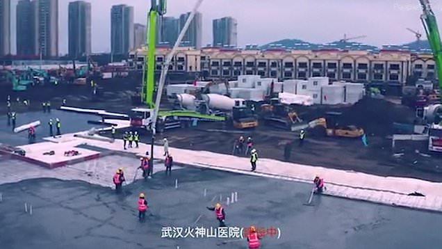 Photo of უყურეთ უჰანის საავადმყოფოს მშენებლობას რეალურ დროში – კიდევ ერთი ჩინური სასწაული (ვიდეო)