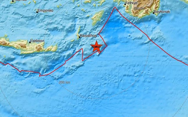 Photo of საბერძნეთში 5.3 მაგნიტუდის სიმძლავრის მიწისძვრა მოხდა