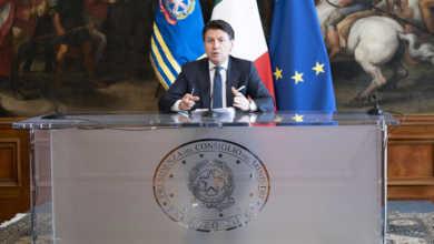 Photo of იტალიის პრემიერ-მინისტრმა კორონავირუსთან დაკავშირებით ქვეყანაში არსებული სიტუაცია შეაფასა