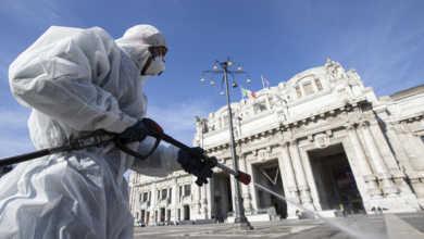 Photo of იტალია: 250 გარდაცვლილი ერთ დღეში, ინფიცირების 2116 ახალი შემთხვევა
