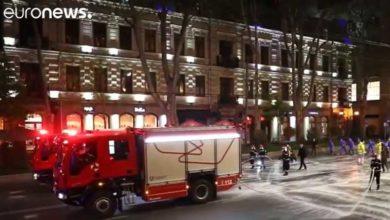 "Photo of No Comment – ""ევრონიუსი"" თბილისში სადეზინფექციო სამუშაოების ვიდეოკადრებს ავრცელებს (ვიდეო)"