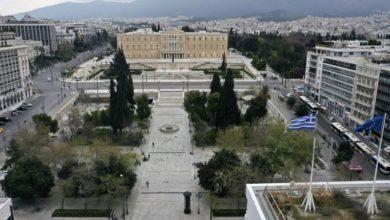 Photo of ათენის ქუჩები კარანტინის დროს (ვიდეო)