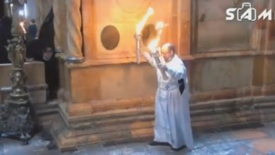 Photo of მაცხოვრის საფლავზე წმინდა ცეცხლი გადმოვიდა (ვიდეო)
