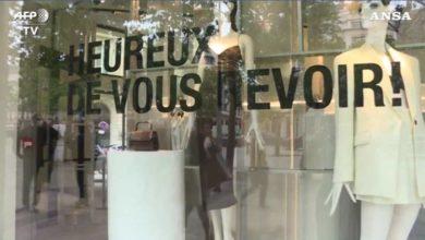 Photo of პარიზში მაღაზიები გაიხსნა – შოპინგი ელისეს მოედანზე (ვიდეო)