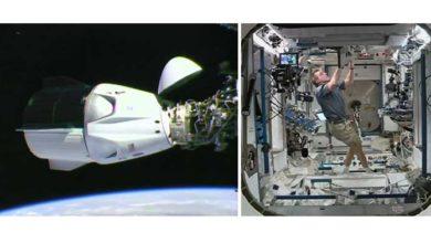 """Photo of Space-X-ის ხომალდი """"დრაგონი"""" საერთაშორისო კოსმოსურ სადგურს წარმატებით მიუერთდა (ვიდეო)"""