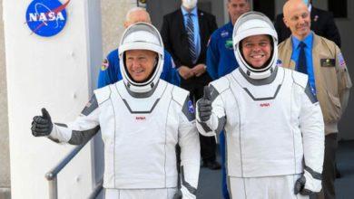 """Photo of ილონ მასკის ხომალდი """"დრაგონი"""", ორ ასტრონავტთან ერთად, წარმატებით გაფრინდა კოსმოსში """"კანავერალის კონცხიდან"""" (ვიდეო)"""
