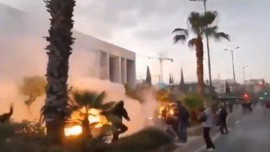 """Photo of ათენში დემონსტრანტებმა აშშ-ის საელჩოს მიმართულებით """"მოლოტოვის კოქტეილები"""" ისროლეს (ვიდეო)"""