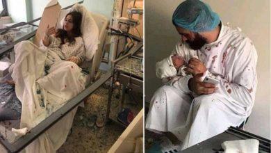 Photo of ბეირუთში აფეთქების დროს იმშობიარა ქალმა, რომელიც დაჭრილმა ექიმმა არ მიატოვა