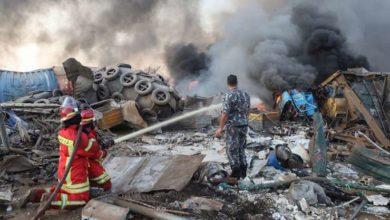 Photo of ბეირუთში აფეთქებისას გარდაცვლილთა რიცხვი 135-მდე გაიზარდა