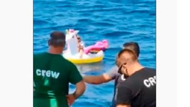 Photo of 3 წლის ბავშვი, რომელიც გასაბერი რგოლით ზღვამ გაიტაცა, გადაარჩინეს (ვიდეო)